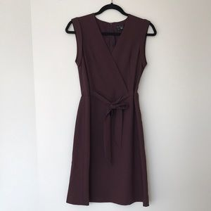 Theory Dress in Plum